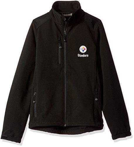 Dunbrooke Apparel NFL Pittsburgh Steelers Men's Softshell Jacket, Small, (Pittsburgh Steelers Mens Jackets)