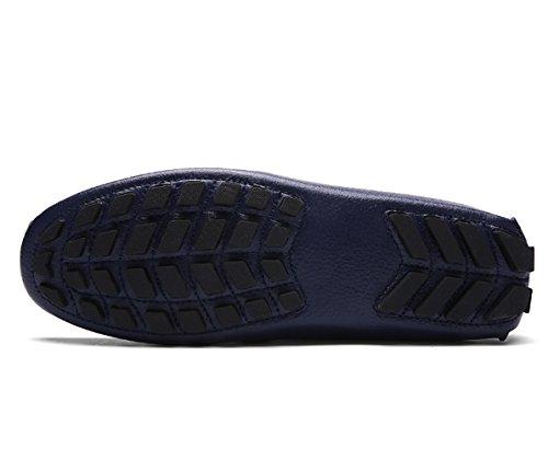 Herren Leder Tiefes Schuhe Boat Blau Halbschuhe ICEGREY 41 8dCwqU8