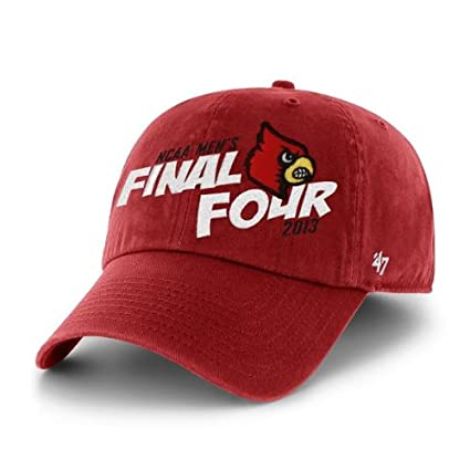 1c941c28c0b84b Image Unavailable. Image not available for. Color: '47 Louisville Cardinals  2013 Final Four Brand Red Relax Adjustable Hat Cap