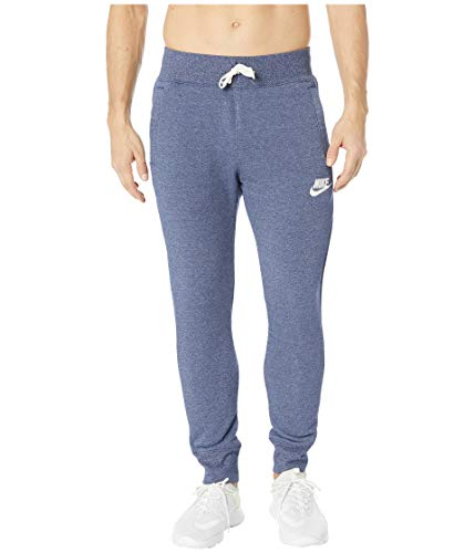 Nike Mens Heritage Jogger Pants Blue Void Heather/Sail 928441-478 Size 2X-Large