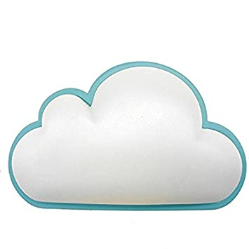 Cloud, White White Fanme Baby Night Light with Light Sensor Plug in Intelligent Soft LED Wall Nursery Lamp LED Cloud Nightlight for Kids for Children/'s Bedroom Hallway