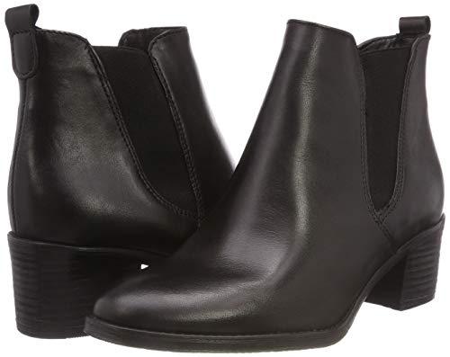 black Tamaris 25043 Noir Bottes Chelsea Femme 21 1 q8gx8YB4w