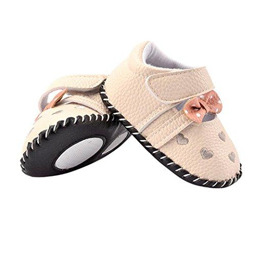 zapatos niña bebe, Switch Recién nacido Bebé ninas bowknot Prewalker Zapatos primeros pasos, princesa Zapatos verano oferta 2017 moda sandalias de niña fiesta Suela blanda Gris