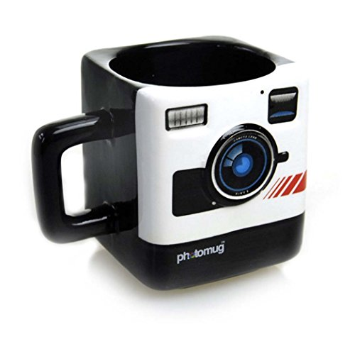 Retro Camera Shaped Mug, Photomug