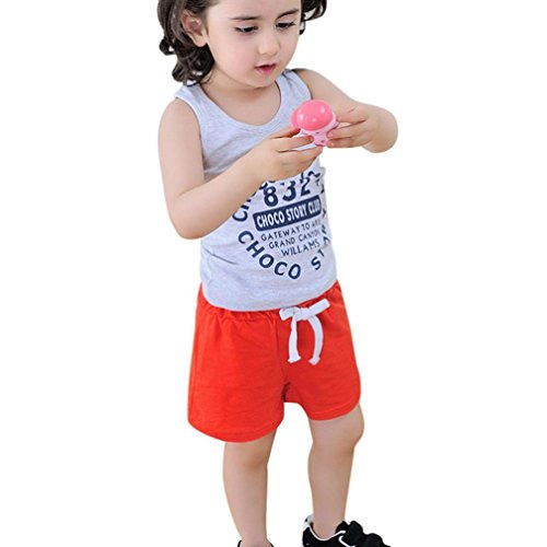 Birdfly Unisex Kid Summer Casual Cotton Solid Elastic Waistline Knot Short Pants (120(US:Size 8), - On Goggles Toothpaste