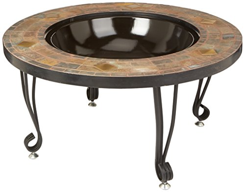 AmazonBasics-34-Inch-Natural-Stone-Fire-Pit-with-Copper-Accents