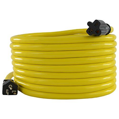 Conntek 25F620 NEMA 6-20 Extra-Heavy Duty Extension Cord, 20 Amps 250 Volts, 25 Feet