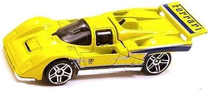 2009 Hot Wheels Yellow Ferrari 512m Hw Special Features 09 10 95 166 Short Card By Hot Wheels Amazon De Spielzeug