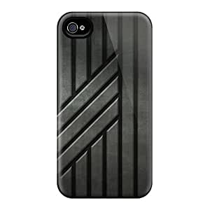 Cute Appearance Covers/ePW25288otTX Black Stripes Cases For Iphone 6