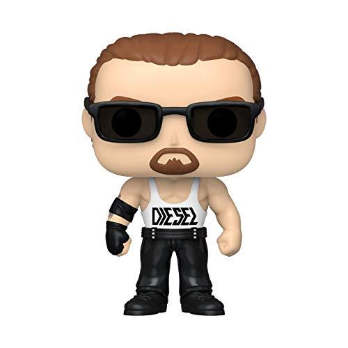 Funko- Pop WWE Diesel w/Chase (Edicion Especial) Figura coleccionable, Multicolor (46845) , color/modelo surtido