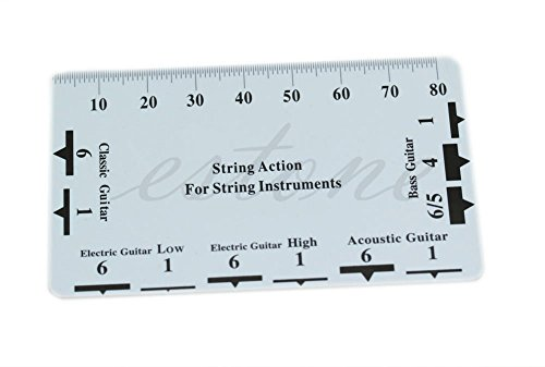 1pc Guitar String Action Gauge String Pitch - Ruler Measuring Tool - for Bass Classical Electric Acoustic Guitar - Luthier - Classical Luthiers Guitar