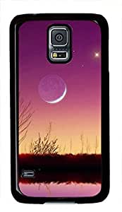 The Moon View Samsung Galaxy i9600 S5 Case