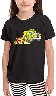 Vounsainie Boy's&Girl's Classic The Magic School Bus O-Neck Short Sleev