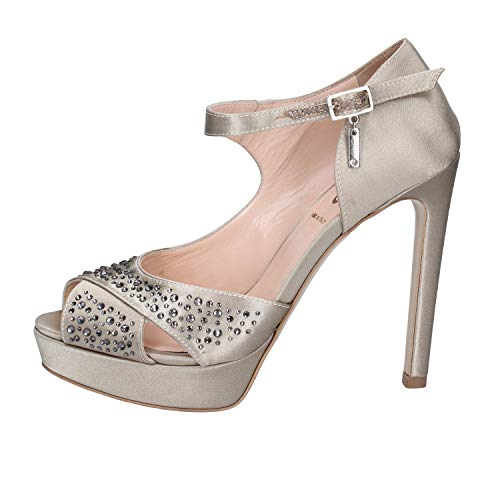Textiles champán Jo Fibras S16035T0380 Shoes Liu Sandalia Mujer OxT0YqT