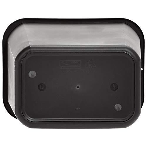 AmazonBasics 10 Gallon Commercial Waste Basket, Black, 12-Pack by AmazonBasics (Image #6)