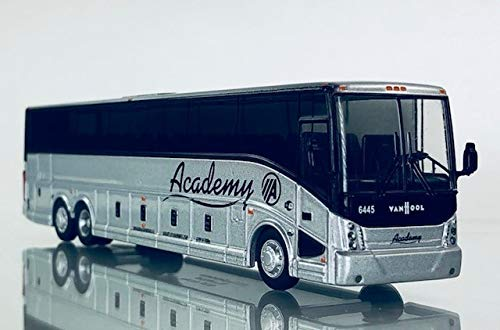Academy Diecast Bus 50th Anniversary Vanhool 1:87 Scale - HO Scale Iconic Replica