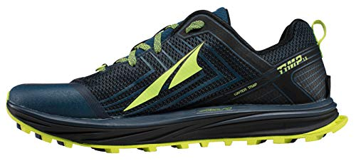 Altra AFM1957F Men's TIMP 1.5 Trail Running Shoe, Blue/Lime - 8 D(M) US by Altra (Image #2)