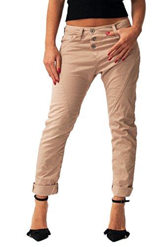 Please Femmes Jeans P78 Baggy P78ACN4M07 Poudre Rose