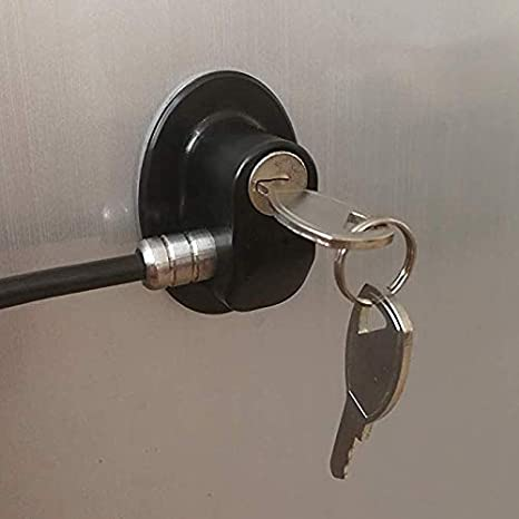 Homy Bloqueo de frigorífico, cerradura para puerta de congelador ...