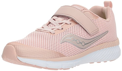 Saucony Girls' Ideal a/C Sneaker, Red, 11.5 Wide US Little - Us 630
