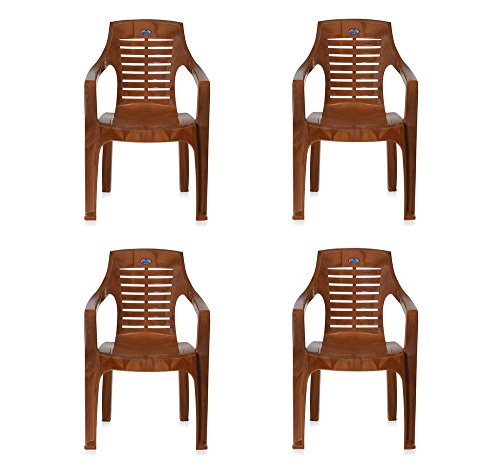 @home By Nilkamal Set of 4 Chairs (Pear Wood)