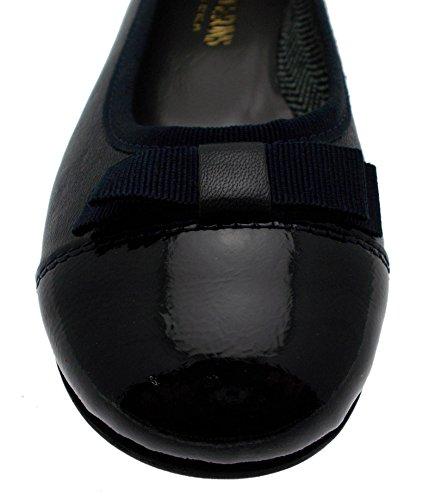 DAVEMA 050 Pantofola Uomo Cotone Blu Fisioterapia Extra Large Elastico