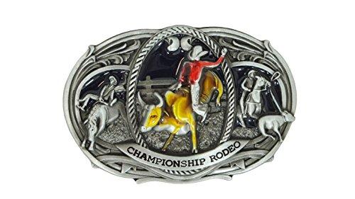 CHAMPIONSHIP RODEO BELT BUCKLE (Bull Rider Buckle)