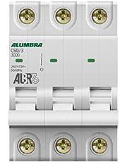 Disjuntor Tripolar Curva C, Alumbra, ALBR 3 39447, Branco