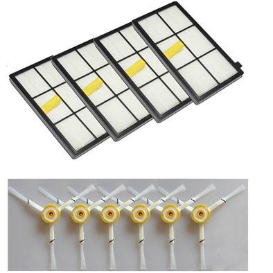 LOVE(TM)Los cepillos laterales y filtros de repuesto para Robot Serie 800 870