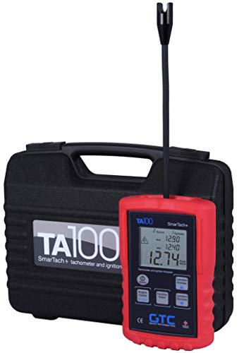 (General Technologies Corp GTC TA100 Smartach+ Wireless Ignition Analyzer and Tachometer)