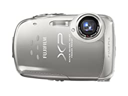 Fujifilm FinePix XP10 12 MP Waterproof Digital Camera with 5x Optical Zoom and 2.7-Inch LCD (Silver)