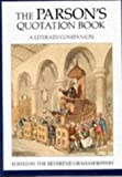 The Parsons Quotation Book, Graham Jeffery, 0709053002