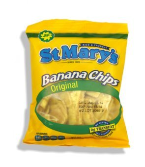St Mary's Banana Chips 1.06 Ounce (Pack of - Chippies Chips Banana