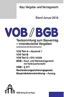 Bauvertrag 2018 Für Auftraggeber Bgb Und Vobb Sicher Anwenden