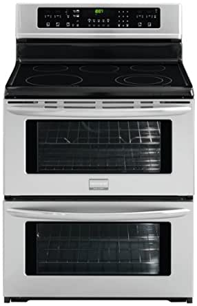 Gallery Series 30 In. Freestanding Electric Double Oven Range - Stainless Steel
