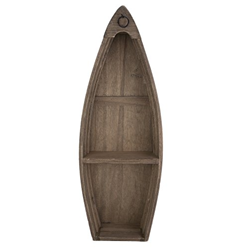 Beachcombers SS-BCS-04692 Home Decor Products (Boat Shelves Shaped Small)