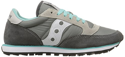 Saucony Jazz Low Pro Damen Laufschuhe - Gray/White (37 EU)