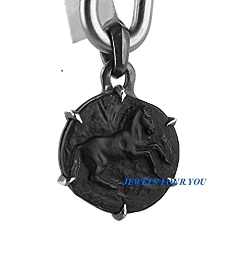 david-yurman-solid-sterling-silver-petrus-onyx-horse-amulet-pendant-new-602