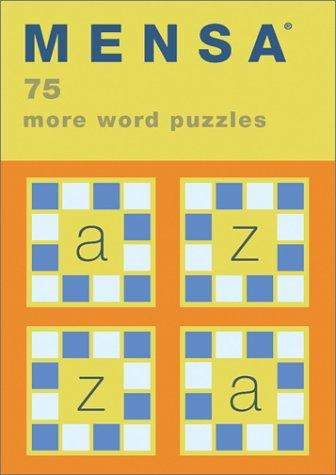 Mensa: 75 More Word Puzzles