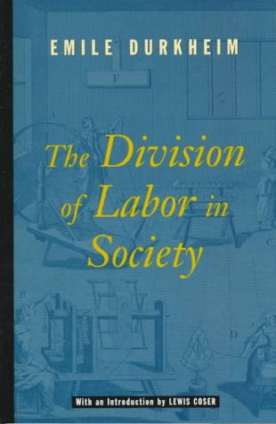 Division Of Labor In Soc. W/New Intro.