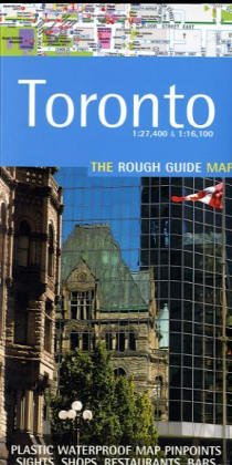 The Rough Guide to Toronto Map (Rough Guide - The Rough Guide To Canada