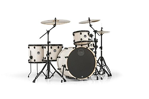 MAPEX MA528SFBAW Mars Series Crossover 5-Piece Drum Shell Pack, Bonewood ()