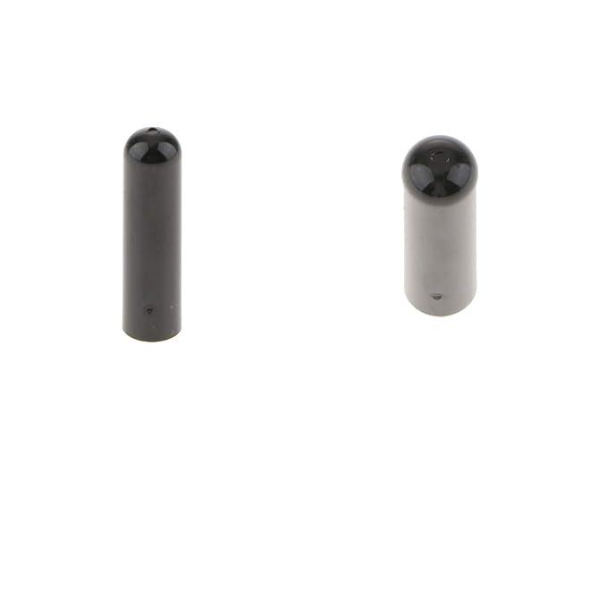 For BMW Door Lock Pin Screw Knob Cap Cover Trim Insert Black 51211805643