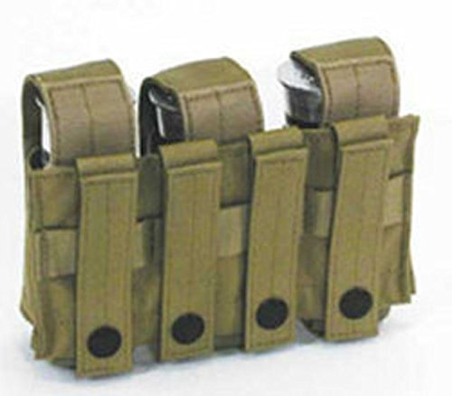 BLACKHAWK! 37CL22CT Double Grenade Pouch, 40mm, Coyote ()