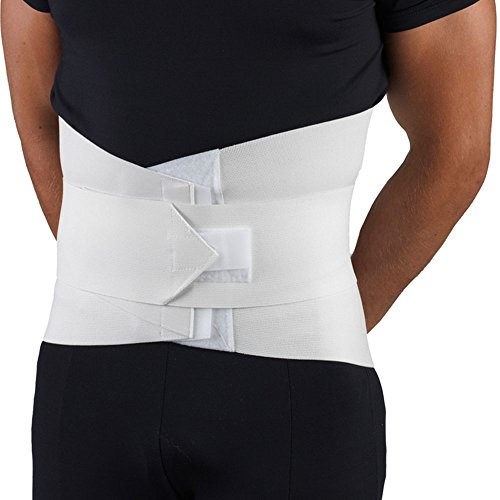 OTC Lumbo-Sacral Support, Abdominal Uplift, 11-Inch Lower Back, Strong Compression Elastic, Large - Lumbosacral Abdominal Muscle Support