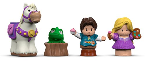 Fisher-Price Little People Disney Princess, Rapunzel & Friends (Little People Prince)