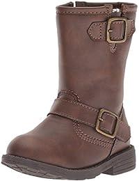 Kids Girl's Aqion3 Brown Riding Boot Fashion