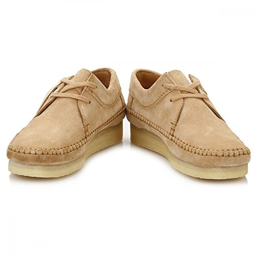 Womens Shoes Clarks Weaver Originals Suede Brown OWHH5qS