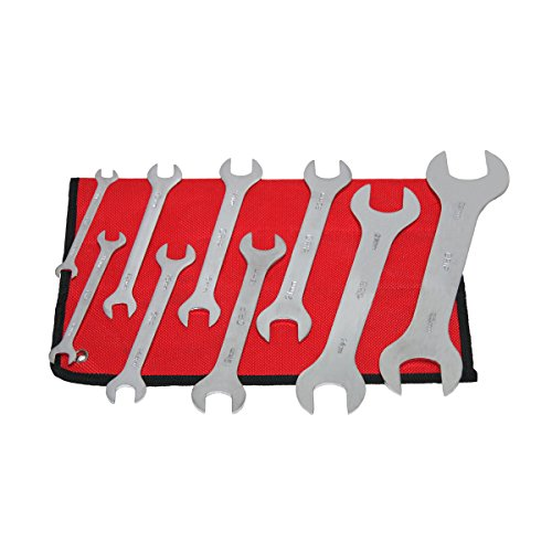 Grip 9 pc Thin Wrench Set MM (Flat Wrench)