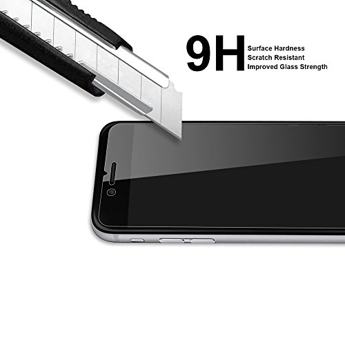 Supershieldz [2-Pack] for iPhone 8 Plus/iPhone 7 Plus Tempered Glass Screen Protector, Anti-Scratch, Anti-Fingerprint, Bubble Free, Lifetime Replacement Warranty